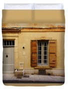 Yellow House No 32 Arles France Dsc01779  Duvet Cover