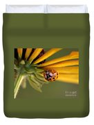 Yellow Lady - 3 Duvet Cover