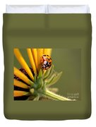 Yellow Lady - 4 Duvet Cover