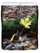 Yellow Leaf Duvet Cover