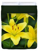 Yellow Lilly 8107 Duvet Cover