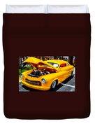 Yellow Machine Duvet Cover