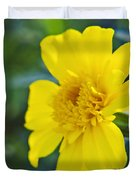 Yellow Marigold Duvet Cover