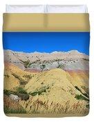 Yellow Mounds Badlands National Park Duvet Cover