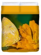 Yellow On Yellow Duvet Cover