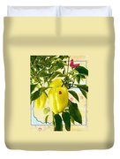 Yellow Pepper Duvet Cover