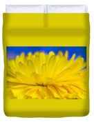 Yellow Petal Explosion Duvet Cover