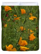Yellow Poppies Dsc07460 Duvet Cover