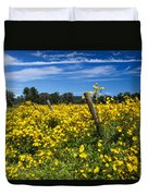 Yellow Profusion Duvet Cover