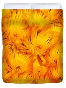 Yellow Radiance  Duvet Cover