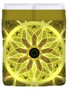 Yellow Rays Duvet Cover