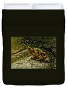 Yellow Rock Jumper Duvet Cover
