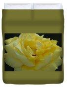 Yellow Rose Frills Duvet Cover