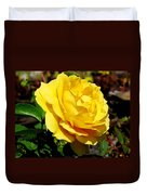 Yellow Rose IIi Duvet Cover