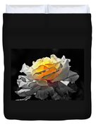 Yellow Rose Series - ...but Soul Is Alive Duvet Cover
