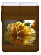 Yellow Rose Wet And Dry Duvet Cover