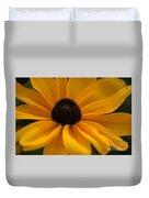Yellow Silk Duvet Cover