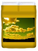 Yellow Skies Duvet Cover