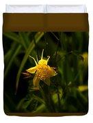 Yellow Splendor Duvet Cover