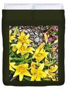 Yellow Spring Duvet Cover