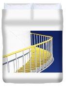 Yellow Steps 2 Duvet Cover