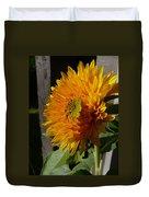 Yellow Sunflower Duvet Cover