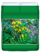 Yellow Tilt Duvet Cover