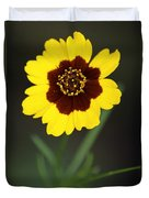 Yellow Wild Flower Duvet Cover