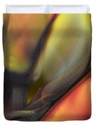 Yellow With Texture Duvet Cover
