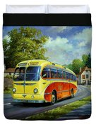 Yelloways Seagull Coach. Duvet Cover