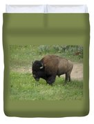 Yellowstone Bison Duvet Cover