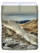 Yellowstone Canary Duvet Cover