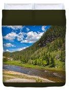 Yellowstone Gibbon River Duvet Cover
