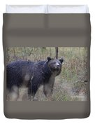 Yellowstone Grizzly Duvet Cover