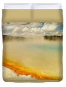 Yellowstone Hot Springs Duvet Cover