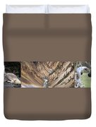 Yellowstone National Park Montana  3 Panel Composite Duvet Cover