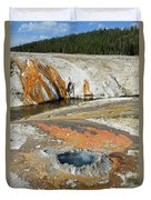 Yellowstone Small Crested Pool Duvet Cover