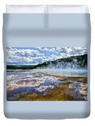 Yellowstone - Springs Duvet Cover