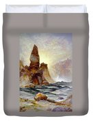 Yellowstone Tower Falls Duvet Cover