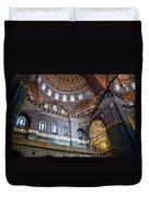Yeni Valide  Camii Mosque Istanbul Turkey Duvet Cover