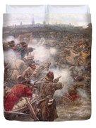 Yermaks Conquest Of Siberia Duvet Cover