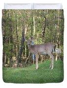 Yes Deer Duvet Cover