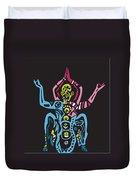 Yogazi Duvet Cover