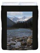 Yoho National Park British Columbia Duvet Cover