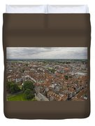 York From York Minster Tower II Duvet Cover