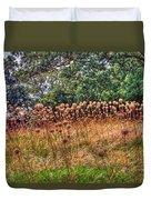 Yorktown Onion Field Duvet Cover