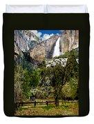 Yosemite Apple Orchard  Duvet Cover