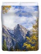Yosemite Between Seasons Duvet Cover