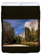 Yosemite El Capitan River Duvet Cover