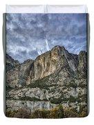 Yosemite Falls Dry Duvet Cover
